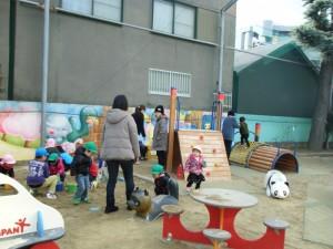 子ー園庭開放